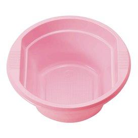 Plastic Kom PS roze 250ml Ø12cm (30 stuks)