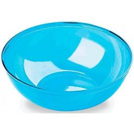 Plastic Kom PS Kristal Hard turkoois 3500ml Ø27cm (1 stuk)