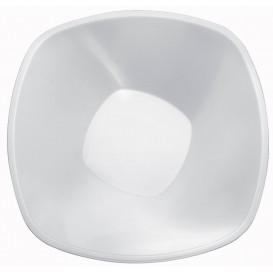 """Bol en Plastique PP """"Square"""" Blanc 3000ml Ø27,7cm (30 Utés)"""