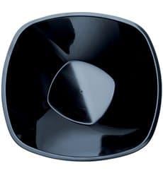 """Bol en Plastique PP """"Square"""" Noir 3000ml Ø27,7cm (30 Utés)"""