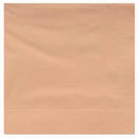 Serviette en Papier Ouate 40x40cm Crème (50 Utés)
