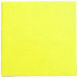 Papieren servet geel 25x2cm (50 stuks)