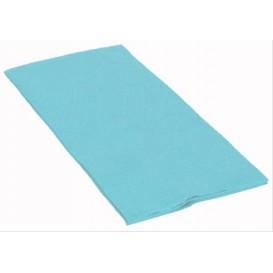 Serviette Papier Molletonnée 1/8 40X40 Celeste (1.200 Utés)