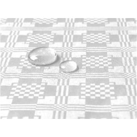 Tafelkleed rol Waterdicht wit 1,2x5m (1 stuk)