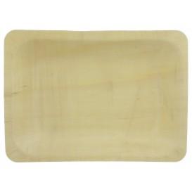 Houten dienblad 19,5x14x3cm (25 stuks)
