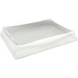 Plastic PET Deksel voor dienblad 23x16cm (50 stuks)