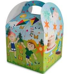 Boîte à Menu Fête 131x131x115mm (250 Utés)