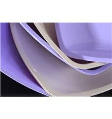 Assiette Plastique Plate Beige Square PP 230mm (300 Utés)