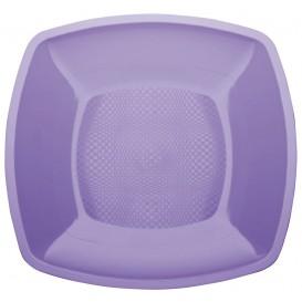 Assiette Plastique Plate Lilas 180mm (150 Utés)