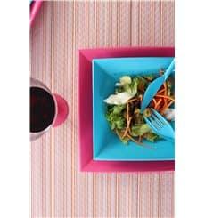 Assiette Plastique Réutilisable Plate Fuchsia PP 290mm (144 Utés)