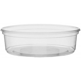 Pot en Plastique Transparent 125ml Ø10,5cm (50 Unités)