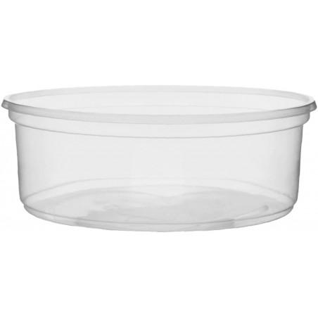Pot en Plastique Transparent 150ml Ø10,5cm (50 Unités)