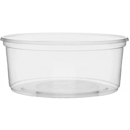Pot en Plastique Transparent 200 ml Ø10,5cm (50 Unités)