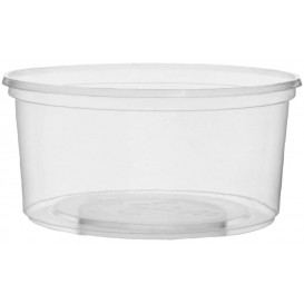 Pot en Plastique Transparent 250ml Ø10,5cm (1.000Utés)