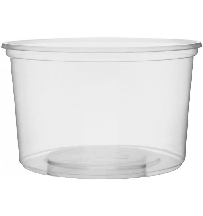 Pot en Plastique Transparent 300 m lØ10,5cm (50 Unités)
