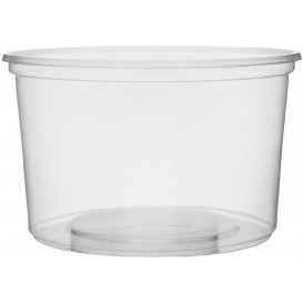Pot en Plastique Transparent 300 ml Ø10,5cm (1.000 Unités)