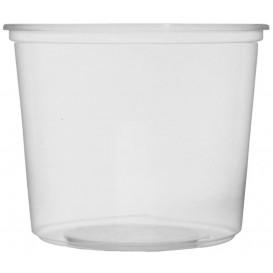 Plastic deli Container transparant PP 400ml Ø10,5cm (1.000 stuks)