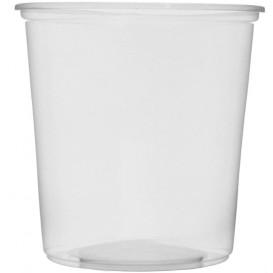 Plastic deli Container transparant PP 500ml Ø10,5cm (100 stuks)