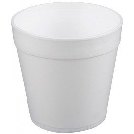 Pot en Foam Blanc 32OZ/950ml Ø12,7cm (25 Unités)