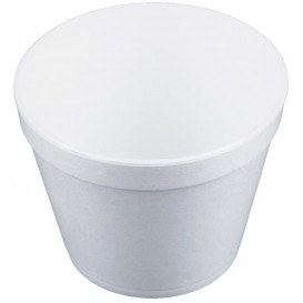 Pot en Foam Blanc 24OZ/710ml Ø12,7cm (25 Unités)
