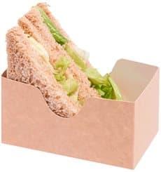 Emballage pour Sandwich Kraft (1.000 Unités)