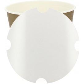 Papieren Deksel voor gebraden kip emmer 5100ml (300 stuks)