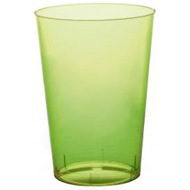 Verre Plastique Moon Vert citron Transp. PS 230ml (1000 Unités)