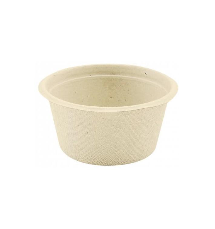 Pot Bio à Sauce en Canne à Sucre Naturel 55ml (1000 Utés)