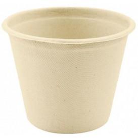 Pot en Canne à Sucre Naturel Ø95mm 425ml (600 Utés)