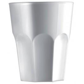 Plastic shotje SAN Herbruikbaar wit 40ml (6 stuks)