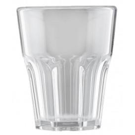 "Plastic shotje SAN Herbruikbaar ""Frost"" transparant 40ml (6 stuks)"