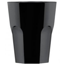 Verre Réutilisable SAN Rox Noir 300ml (8 Utés)