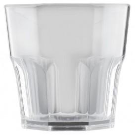 "Plastic glas SAN Herbruikbaar ""mini Drink"" transparant 160ml (8 stuks)"