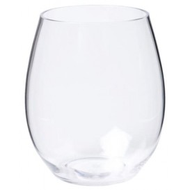 Plastic glas Tritan Herbruikbaar transparant 390ml (1 stuk)