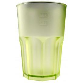 Verre Réutilisable SAN Frost Vert Citron 400ml (75 Utés)