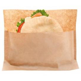 Sachet pour Sandwich Naturel Kraft 21x17/11x3cm (100 Utés)