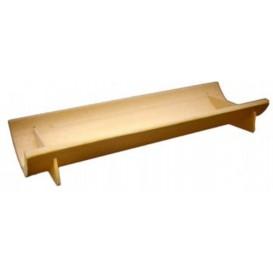 Bamboe wegwerp dienblad 20x6x3cm (200 stuks)