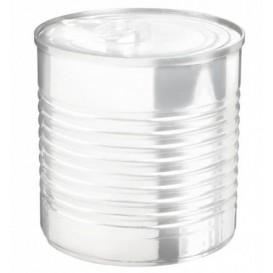 Boîte de Conserve Transparente PS 220ml Ø7,4x7cm (20 Utés)