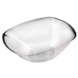 """Plastic Kom PS Kristal Hard """"Vierkant"""" 3000ml Ø27,7cm (3 stuks)"""