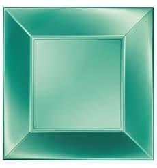 Assiette Plastique Plate Vert Nice Pearl PP 290mm (144 Utés)