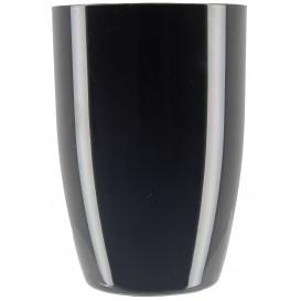 Plastic Proeving beker zwart 150ml (12 stuks)