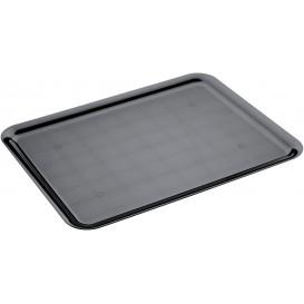 Plastic dienblad zwart 37x50cm (24 stuks)