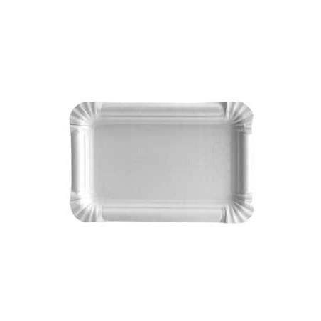 Plat rectangulaire en Carton 12x19cm (1000 Unités)