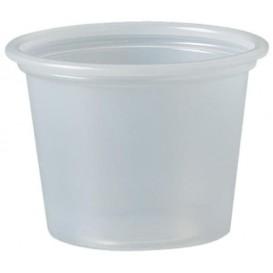 Plastic souffle beker PS transparant 30ml Ø4,8cm (5000 stuks)