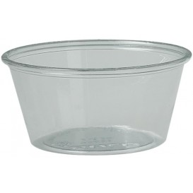 Pot en Platique PET à Sauce 100ml Ø74mm (250 Utés)