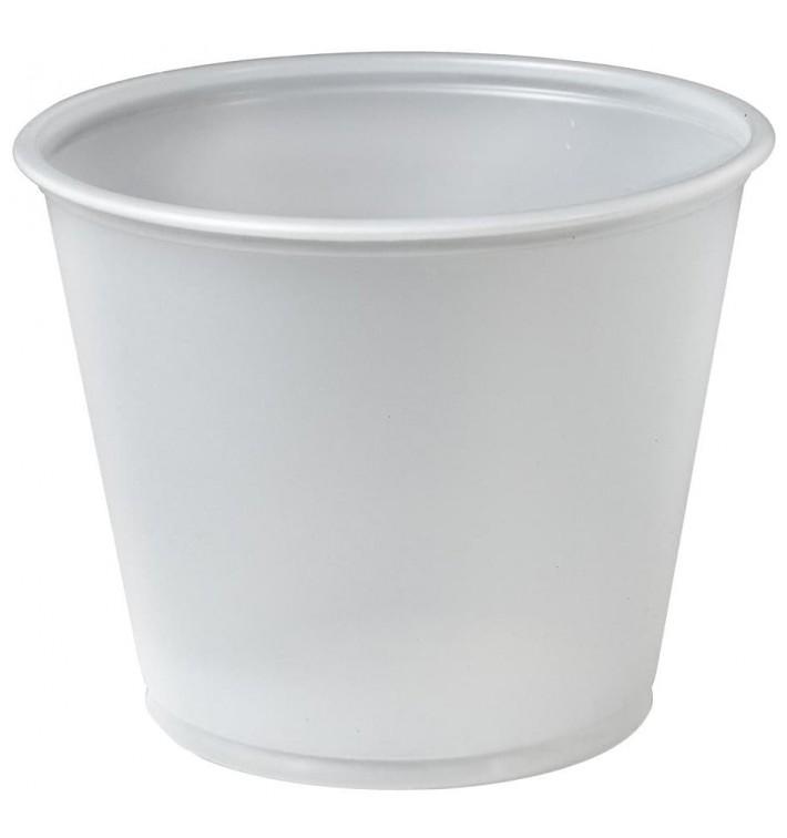 Pot à Sauce Plastique PS Trans. 165ml Ø7,3cm (2500 Utés)