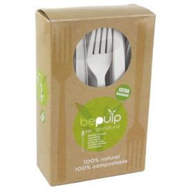 Fourchette Biodegradable PLA Blanc 160mm (500 Unités)