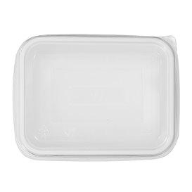 Plastic Deksel voor dienblad transparant 15,7x11,2x5,1cm (100 stuks)