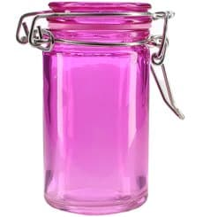 Bocal en Verre Hermétique en Lilas 70 ml (8 Utés)