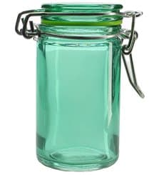 Bocal en Verre Hermétique en Vert 70 ml (8 Utés)